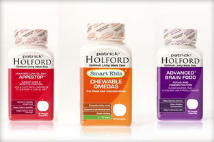 <p>Patrick Holford's new range of supplements are now available in South Africa</p>